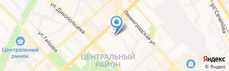 RSS на карте Хабаровска