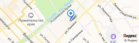 КонсалПроф-ДВ на карте Хабаровска