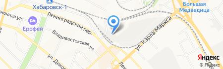 Спец Авто Трейд на карте Хабаровска
