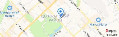 Банкомат Банк ВТБ24 ПАО на карте Хабаровска
