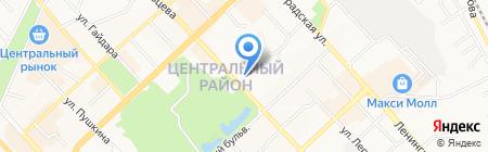 Кадастровый инженер Рыбаков А.С. на карте Хабаровска