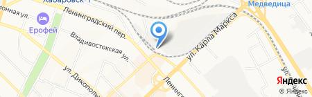 Прод-Импорт на карте Хабаровска