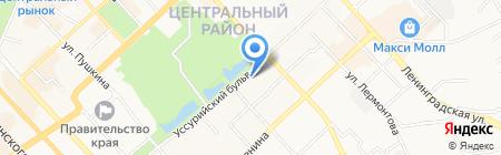 Дальневосточная лестранссервисная компания на карте Хабаровска