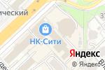 Схема проезда до компании Rosso bijoux в Хабаровске