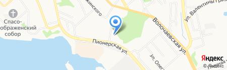 Golden Keys на карте Хабаровска