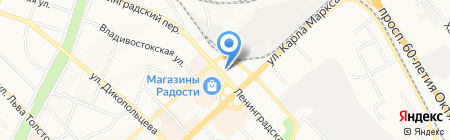 Учебный центр риэлторского мастерства и менеджмента на карте Хабаровска