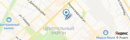 Ипотечный Дом на карте Хабаровска