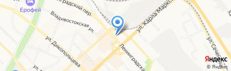 ЭКСПЕРТ НЕДВИЖИМОСТИ на карте Хабаровска