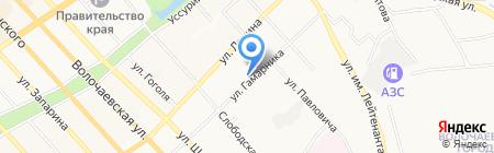 Экосервис Хабаровск на карте Хабаровска