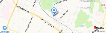 Инженер Класс на карте Хабаровска