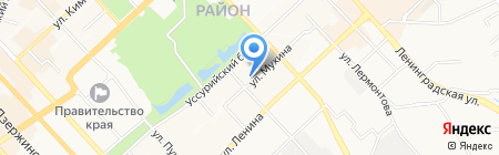 Связькомсервис на карте Хабаровска