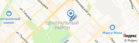 Ориент Экспресс на карте Хабаровска