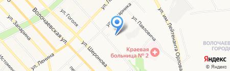 ЧОД на карте Хабаровска