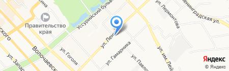 Нужные штучки на карте Хабаровска