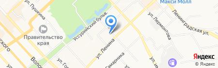 Гарант-Информ на карте Хабаровска
