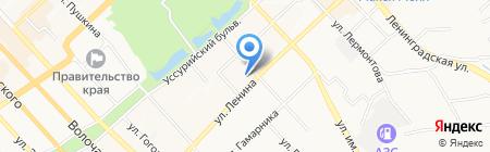 Ann на карте Хабаровска