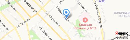 Спектрум Вижн на карте Хабаровска