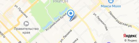 Деловые Услуги на карте Хабаровска