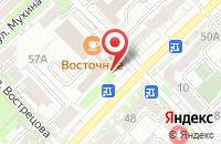Схема проезда до компании Компания  в Хабаровске