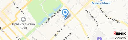 ИНФОМАКС на карте Хабаровска