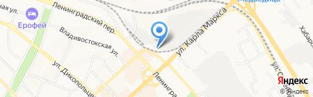 ДВ Диалог на карте Хабаровска