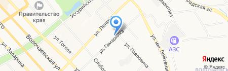 БАЛКОННЫЙ КОМПЛЕКС на карте Хабаровска
