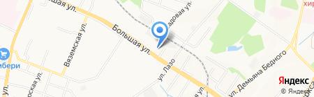 Лялькин на карте Хабаровска