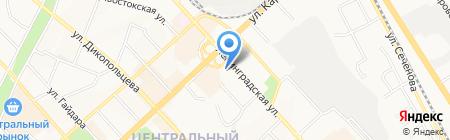Поли-Флоор на карте Хабаровска