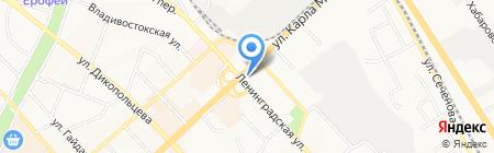 Системы обеспечения пожарной безопасности на карте Хабаровска