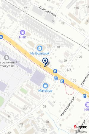 АЗС АВИАЦИОННАЯ на карте Хабаровска