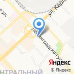 Карго-экспресс на карте Хабаровска