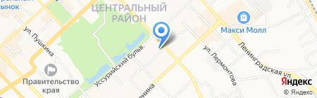 СтройТелеКом на карте Хабаровска