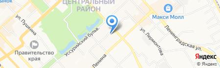 Хабаровскнефтепродукт на карте Хабаровска