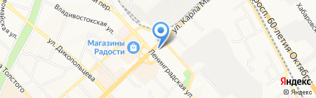 Антураж на карте Хабаровска