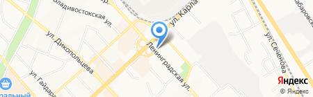 Стиль Плюс на карте Хабаровска