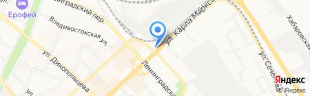 Стальная альтернатива на карте Хабаровска