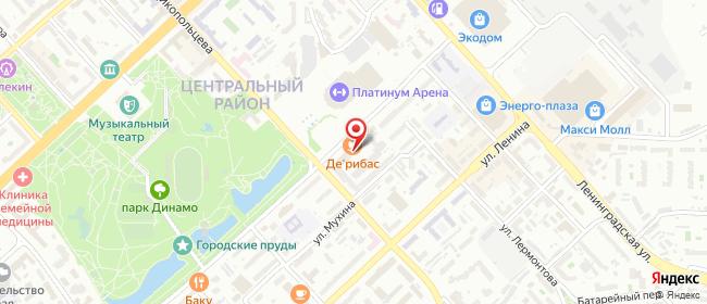 Карта расположения пункта доставки Хабаровск Дикопольцева в городе Хабаровск