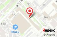 Схема проезда до компании ПАРК в Хабаровске