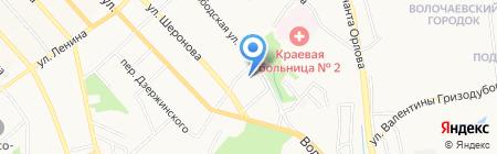 Блеск на карте Хабаровска