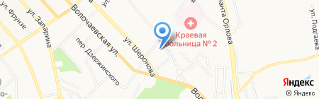 Мелисса Декор на карте Хабаровска
