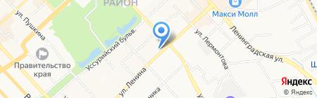 Мегуми на карте Хабаровска
