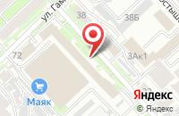 Схема проезда до компании Перспектива в Хабаровске