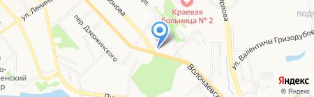 Вертикаль на карте Хабаровска