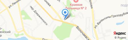 Везёт на карте Хабаровска