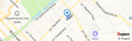 Хабаровский центр социальной помощи семье и детям на карте Хабаровска