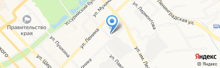 Центр временного содержания для несовершеннолетних правонарушителей на карте Хабаровска