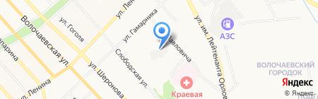 ETC на карте Хабаровска