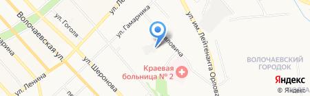 Русский отдых на карте Хабаровска