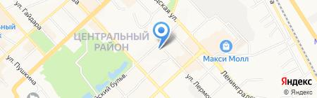 УФМС на карте Хабаровска