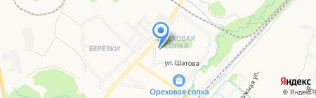 Фифа на карте Хабаровска